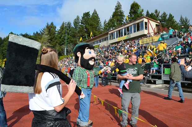 Fans flocked to Redwood Bowl to support the Jacks. - GRANT SCOTT-GOFORTH