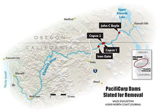 A look at the four Klamath dams slated for removal under the Klamath agreements of 2010. Dam removal has been left out of draft legislation that would enact the agreements.