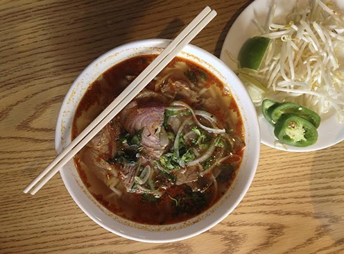 Spicy beef noodle soup for the soul. - JENNIFER FUMIKO CAHILL