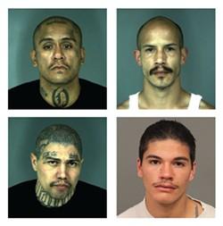 Clockwise from top left: Joe Olivo Jr., Nicholas Leigl, Joe Olivo III, Mario Nunez. - COURTESY OF EPD