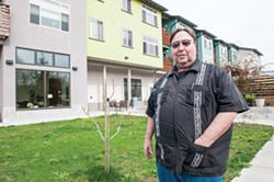 Brad Saxenhaus was homeless his entire adult life until about 10 years ago, when Arcata House - gave him the keys to his own apartment, - no strings attached. He remains housed - today, and says he's healthier - than he's ever been. - PHOTO BY MARK MCKENNA
