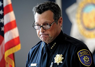 Eureka Police Chief Andy Mills. - FILE