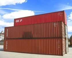 Chinn says the plan is to renovate shipping containers, outfitting them with two beds, windows and storage space. - WIKIPEDIA