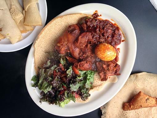 Doro wat, Ethiopian comfort food. - JENNIFER FUMIKO CAHILL