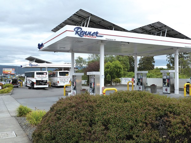 Renner and its 13 stations from Klamath to Piercy are coming under new ownership. - FILE
