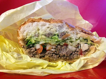 The sandwich version with lettuce for health nuts. - JENNIFER FUMIKO CAHILL