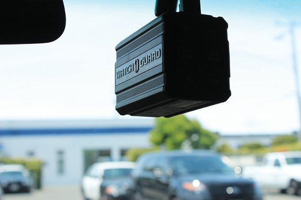 Since 2008, the Eureka Police Department has outfitted all of its patrol cars with Watch Guard cameras. Who gets to see the footage they collect remains up for debate. - PHOTO BY THADEUS GREENSON