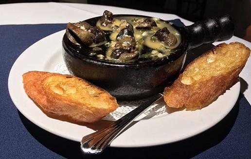Escargot and the power of butter. - JENNIFER FUMIKO CAHILL