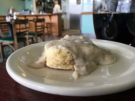 This is the biscuit and gravy you're looking for. - JENNIFER FUMIKO CAHILL