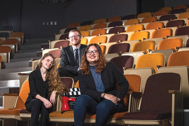 FESTIVAL DIRECTORS ANDREW WEISZ, KIRA HUDSON AND NAIROBYS APOLITO. SUBMITTED.