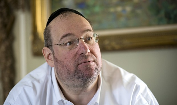 Shlomo Rechnitz - PHOTO COURTESY OF THE SACARAMENTO BEE / PAUL KITAGAKI JR.