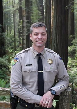 Sheriff William Honsal - HUMBOLDT COUNTY SHERIFF'S OFFICE