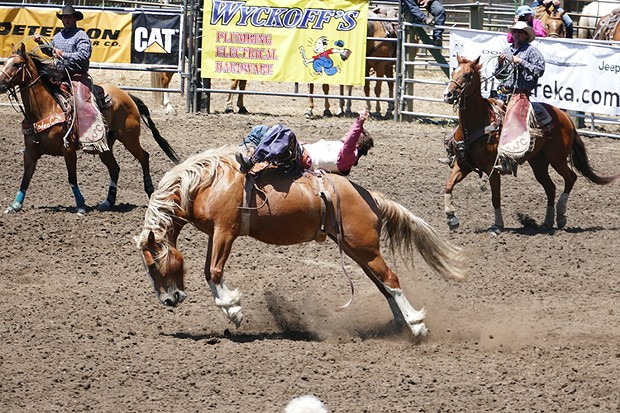 Fortuna Rodeo action - PHOTO BY GREG RUMNEY