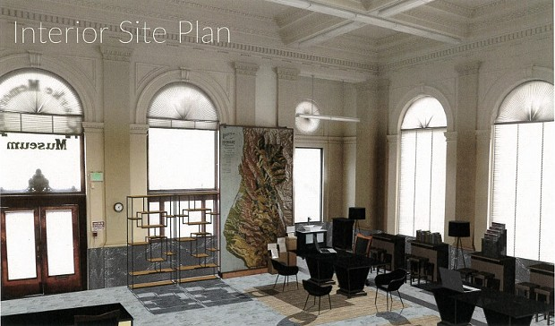 A digital rendition of the Clarke Museum's possible future. - HUMBOLDT MADE