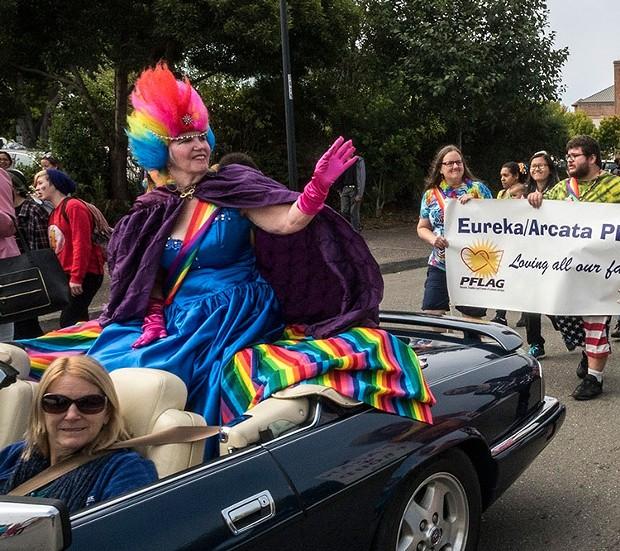 Redwood Pride Parade - PHOTO BY MARK LARSON