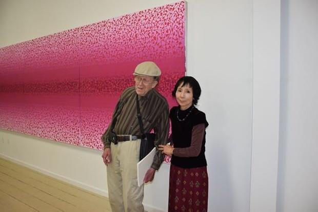 Orr Marshall and Fukiko Oguchi Marshall. - JENNIFER FUMIKO CAHILL