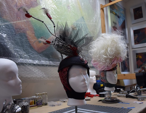"""The headpiece to """"Your Bloody Idealism."""" - JENNIFER FUMIKO CAHILL"""