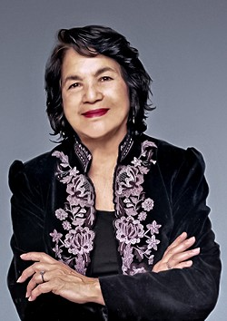 Dolores Huerta - COURTESY OF CENTER ARTS