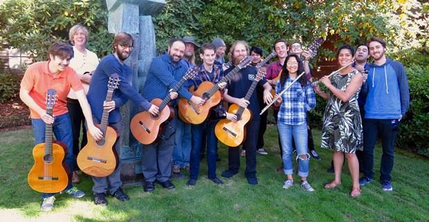 HSU Guitar Ensemble - SUBMITTED