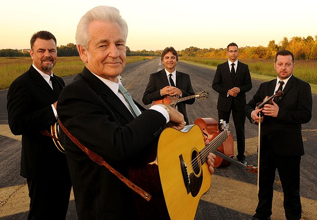 The Del McCoury Band plays Humboldt Brews on Tuesday, Nov. 28 at 8 p.m. ($40). - COURTESY OF THE ARTISTS