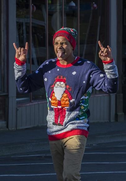 Clearly winning Christmas. - MARK LARSON