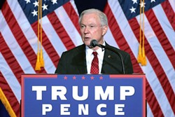 U.S. Attorney General Jeff Sessions. - GAGE SKIDMORE/WIKIMEDIA COMMONS