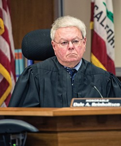 Humboldt County Superior Court Judge Dale Reinholtsen. - FILE