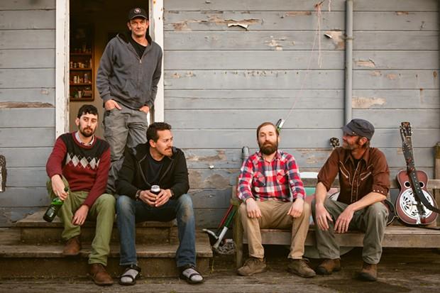 The No Good Redwood Ramblers - COURTESY OF ARCATA MAIN STREET