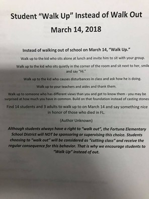 Posted to the Fortuna Middle School Facebook page. - FACEBOOK