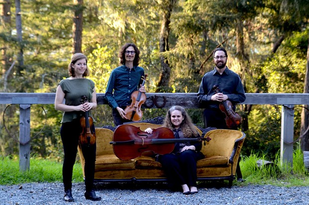 "Sylvestris Quartet will play their program ""Metamorphosis"" on Wednesday, March 21 at 7:30 p.m. at the Westhaven Center for the Arts. - COURTESY OF THE ARTISTS"