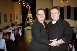 Owners Soleil Deknatel and Alex Begovic. - PHOTO BY AMY KUMLER.