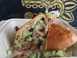 A big, beautiful hot mess of a torta. - PHOTO BY JENNIFER FUMIKO CAHILL