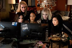 All the stages of watching the North Korean summit. - OCEAN'S 8