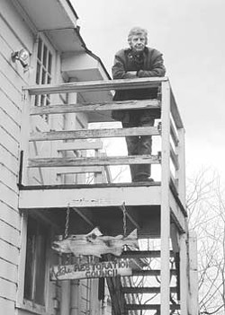 Freeman House circa 2000, at MRC headquarters. - FILE