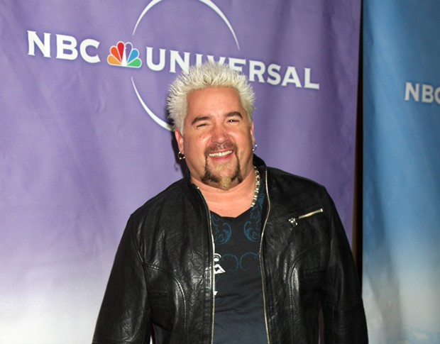 Does this make Guy Fieri look like he has a halo? Yes, it does. - SHUTTERSTOCK