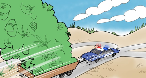ILLUSTRATION BY MARK FIORE/KQED