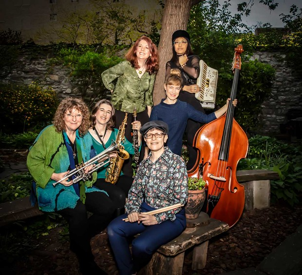 Isle of Klezbos plays Temple Beth El on Monday, July 8 at 7 p.m. - PHOTO BY ALBIE MITCHELL, COURTESY OF THE ARTISTS