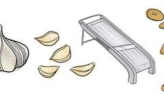 Crispy Fried Garlic Chips