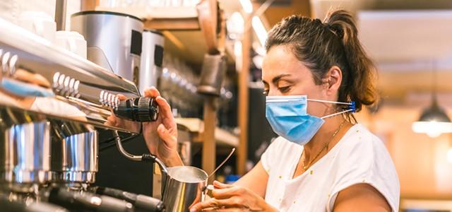 Restaurant Mask Drama