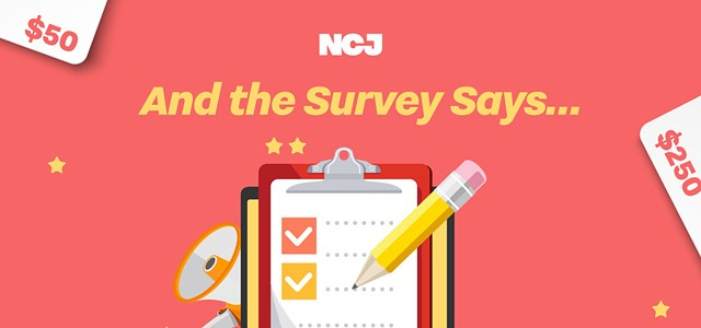 The NCJ Reader Survey is open for your input!