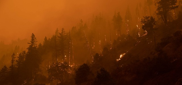 Fires East of Humboldt Grow Overnight, Bringing Continued Travel, Air Quality Impacts