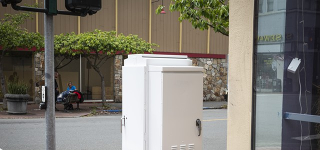 Business Owner Doxxed Over Utility Box Art Spat