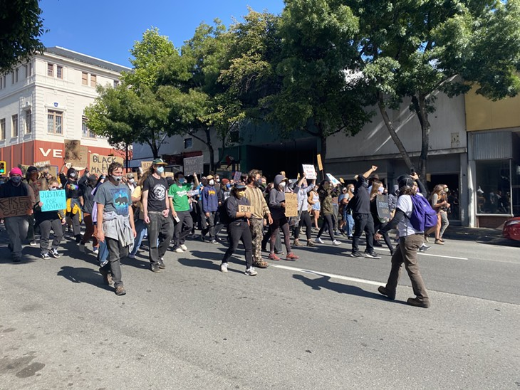 Photos from the Protest