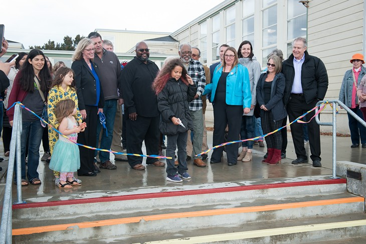 Jefferson Community Center and Park Ribbon Cutting