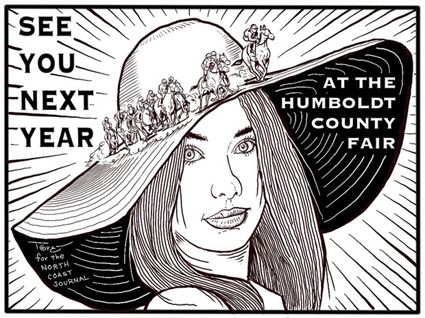 See You Next Year at the Humboldt County Fair
