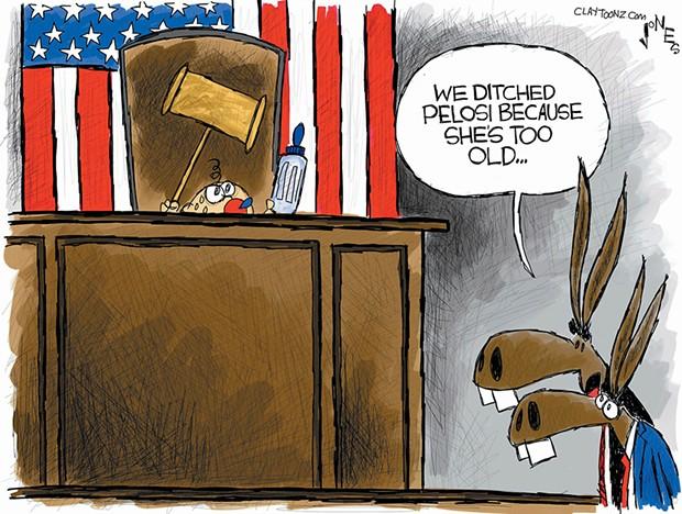 Ditching Pelosi