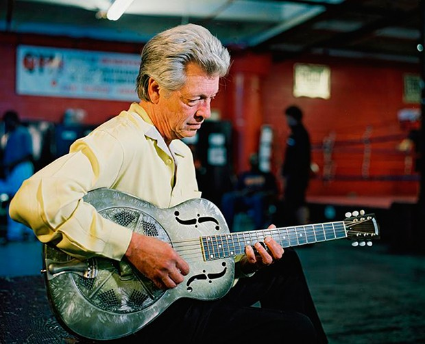 John Hammond plays the Old Steeple on Tuesday, May 7 at 7:30 p.m.