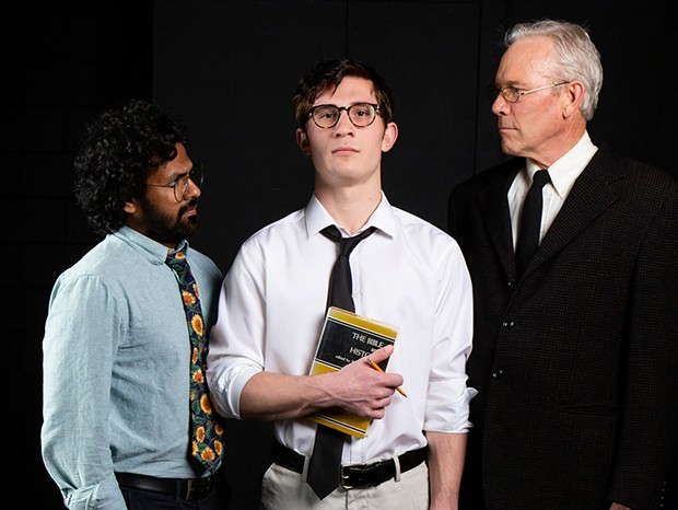 Tushar Mathew, William English III and Gary Sommers in Prodigal Son.