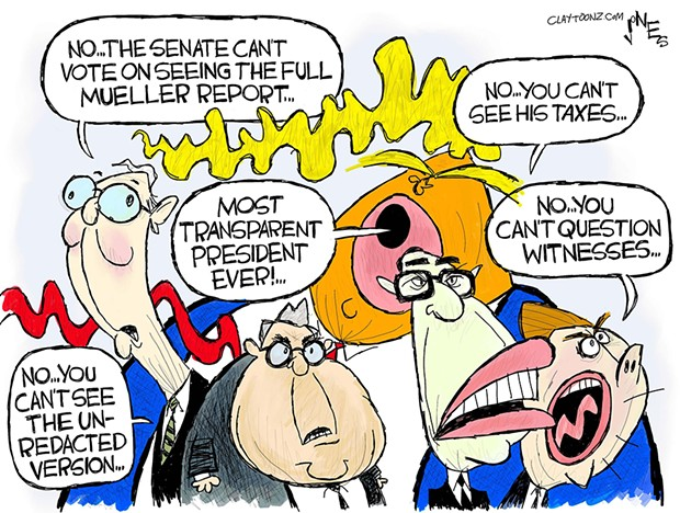 Transparent President?