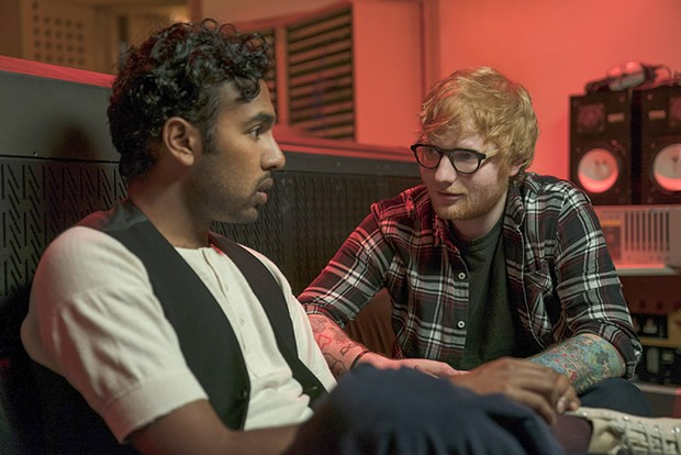 So The Beatles are erased and yet Ed Sheeran's tattoos remain.